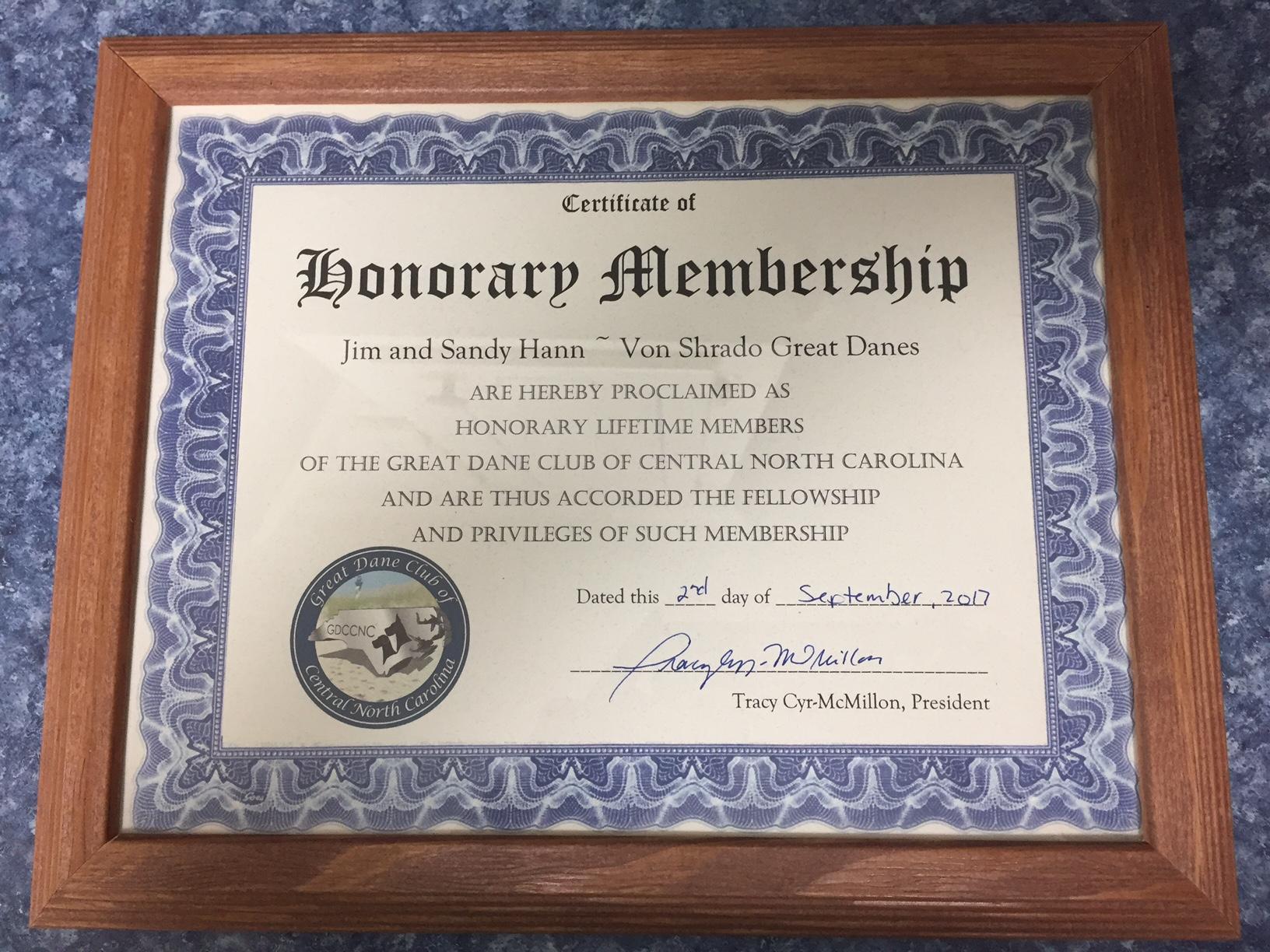 great dane club of central north carolina